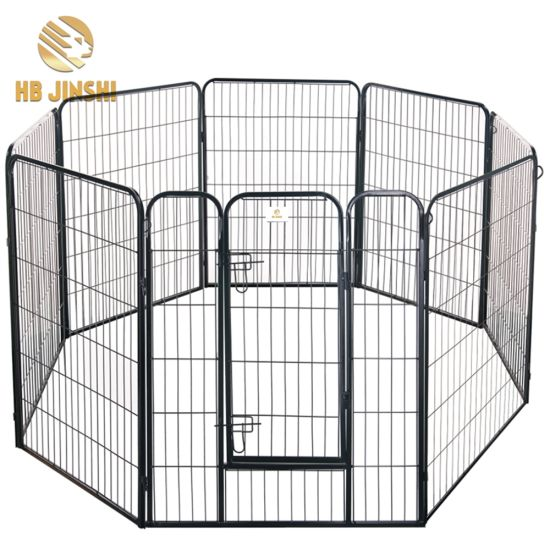 China 8 Panels Metal Welded Wire Pet Play Ground Dog Kennel - China ...