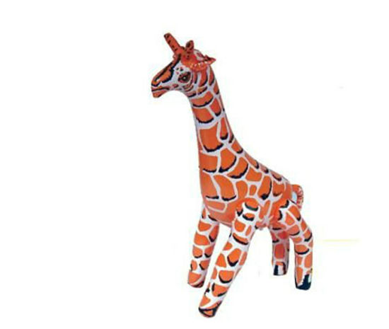 Plastic Inflatable Animals, Used for Playing pictures & photos