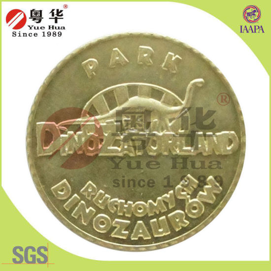 Gold Plating Gold Medal Coin