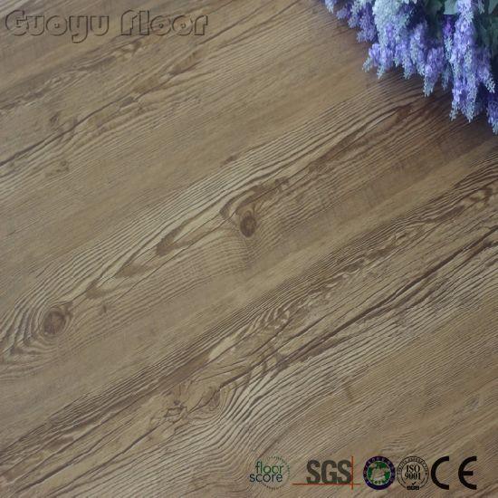 China Light Commercial Dry Back Wood Design PVC Floor Vinyl Flooring ...