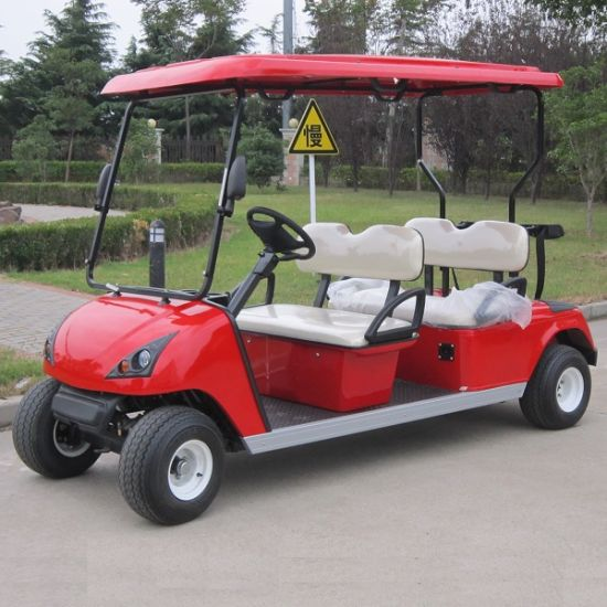 Marshell 4 Seater Electric Sports Car Golf Cart with CE (DG-C4) pictures & photos