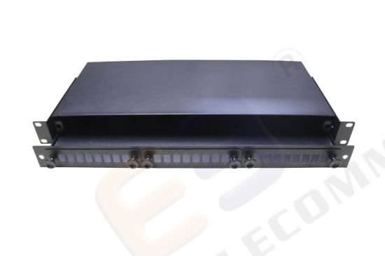 24 Port Panel Enclosure Fixed Type Blank Fiber Patch Panel pictures & photos