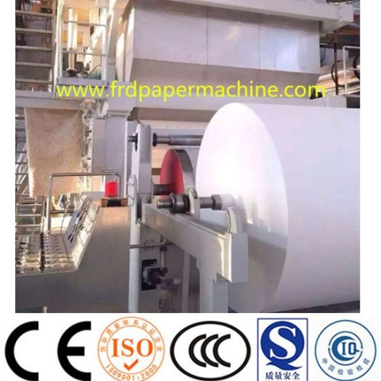 Fluting Corrugated Kraft Liner Packing Carton A4 Copy Culture Printing Facial Tissue Napkin Paper Machinery