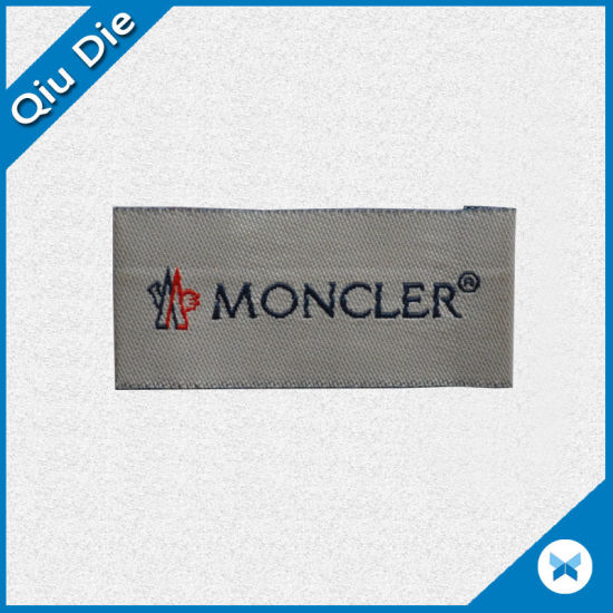 Promotional Magic Tape Backing Woven Badge/Label for Working Garments pictures & photos