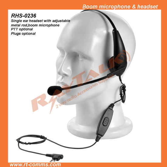 China single ear light weight headset with boom microphone china single ear light weight headset with boom microphone publicscrutiny Choice Image