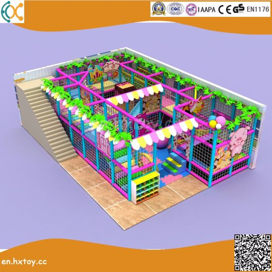 China Fun Indoor Playground Naughty Castle For Kids China Indoor