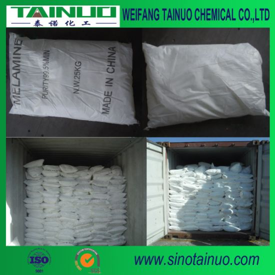 Melamine Powder Made in China 99.8%Min for Polyurethane