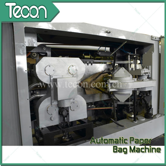 Industrial Paper Valve Sack Bottomer Machine pictures & photos