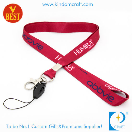 Wholesale Custom Card Holder Printed Lanyard Strap for Staff pictures & photos