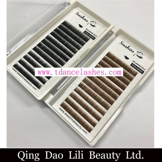 b5fb92ab72b Hand Made Mixed Length Individual Eyebrow Extensions All Color Black Brown  Yellow Custom Package Private Label