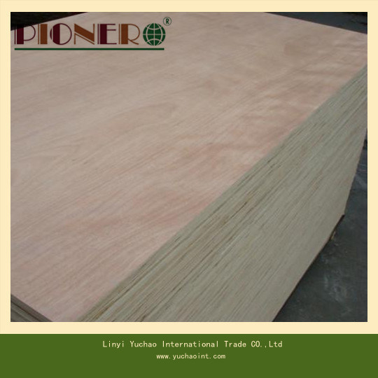 Straight Line Grain Teak Wood Plywood for Singapore Market pictures & photos