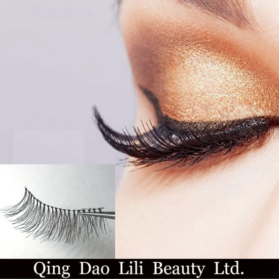 840415392d4 Fashion Eyelashes Human Hair False Eyelashes, Wholesale False Eyelashes  pictures & photos