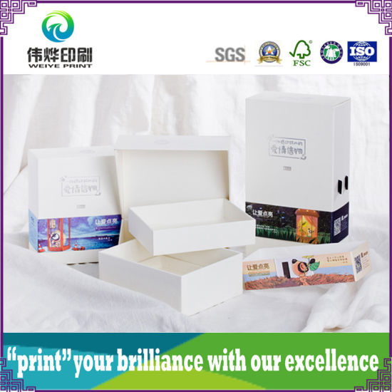 Various Paper Printing Packaging Boxes with Hard Paper Board pictures & photos