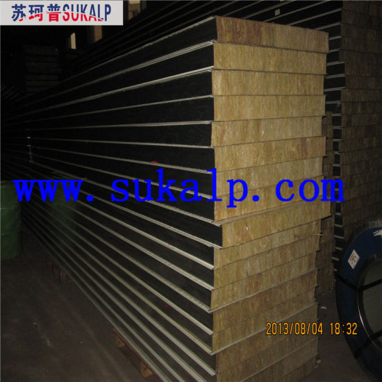Sandwich Roof Panel Mineral Wool pictures & photos