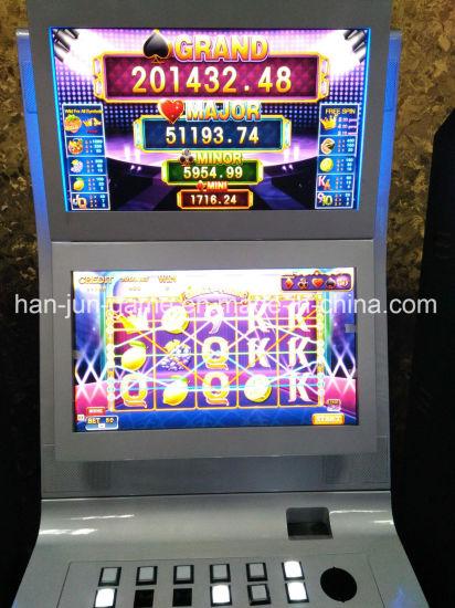 Taiwan Crazy Fruit Casino Slot Video Game Cabinets Gambling Machines