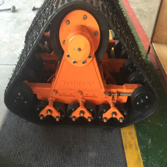 Orange Color Rubber Track System Hyks-320 pictures & photos