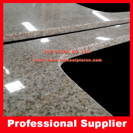 Granite Countertop Worktop Bench Top-Yellow Rust Stone G682 for Kitchen pictures & photos