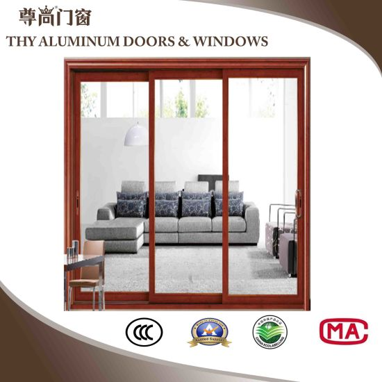 China Aluminum Interior Doors Exterior Doors With Louver Shutter