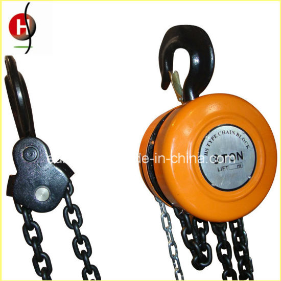 Manual Best Quality Durable Hsz 3t 3m Chain Block pictures & photos