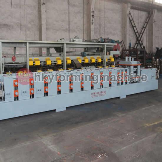 Die Cutting Automatic C Section Purlin Production Line