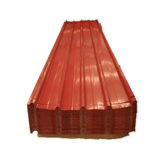 4 Angles Galvanized PPGI Corrugated Steel Sheet for Roofing Sheet