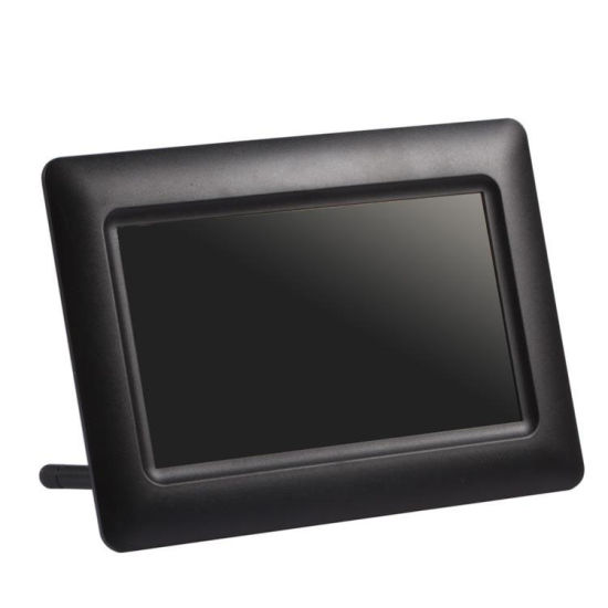 7inch Digital Photo Frame 701A Single-Function (TF-6009) pictures & photos