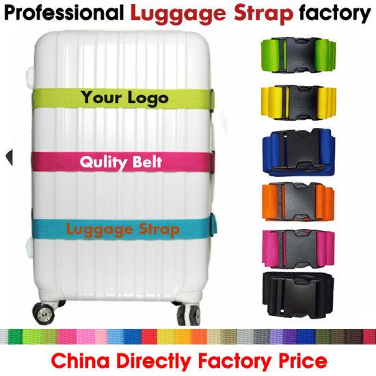 97e4eb156d1f [Hot Item] Luggage Belt, Custom Luggage Strap, Logo Luggage Strap,  Polyester Luggage Belt, Promotional Gift Luggage Strap