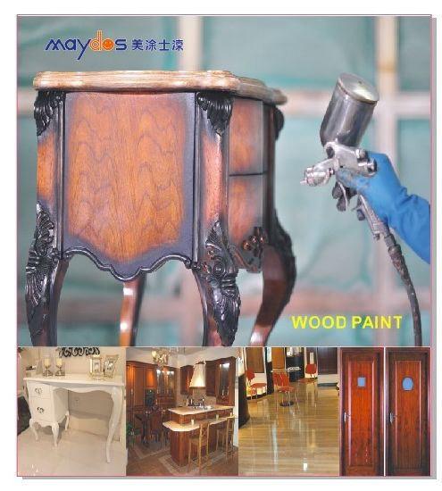 Maydos Non Toxic Lacquer 2k PU Polyurethane Wood Varnish for Outdoor Wood  Furniture Protection - Maydos Non Toxic Lacquer 2k PU Polyurethane Wood Varnish For Outdoor Wood  Furniture Protection