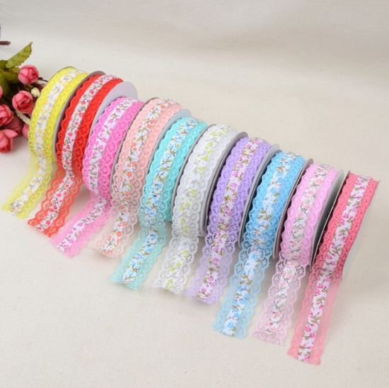 Wholesale Printing Ribbon Lace for Clothing or Other Accessories