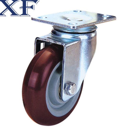 75*20mm PU Swivel Caster Wheel for Industrial Usage pictures & photos