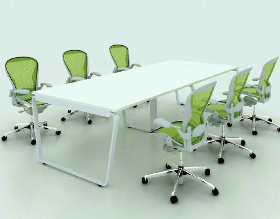 Delicieux Movable Office Furniture Melamine Conference Table Meeting Table Design  (SZ MTT094)