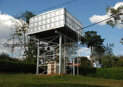 Steel Structure Water Tank Tower