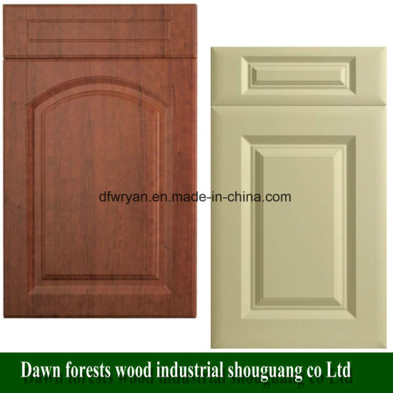 Kitchen Cabinet Parts Thermofoil Pvc Film Mdf Cupboard Door
