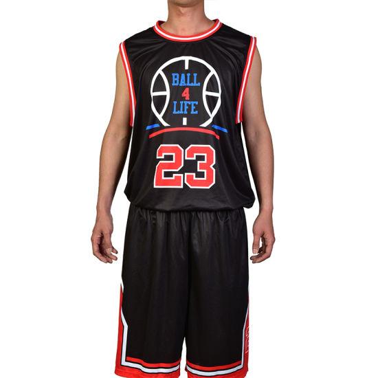 d16f5118178 Basketball Jersey Logo Design Best Cotton Wholesale Mans Basketball Jersey  pictures & photos