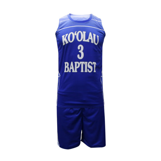 eaca0219695 Latest Design Polyester Sublimated Printing Basketball Jersey Set Wholesale  Custom Basketball Uniforms pictures   photos