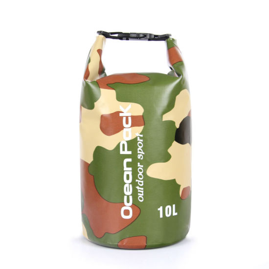 2018 Promotional Camouflage Color Fabric Waterproof Travel Dry Bag (jp-wbs003) pictures & photos