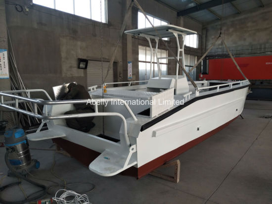 China Aluminum Electrofishing Boat/Working Boat/River Boat