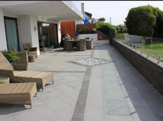 China Cheap Granite Paving Stone Flooring China Building Material