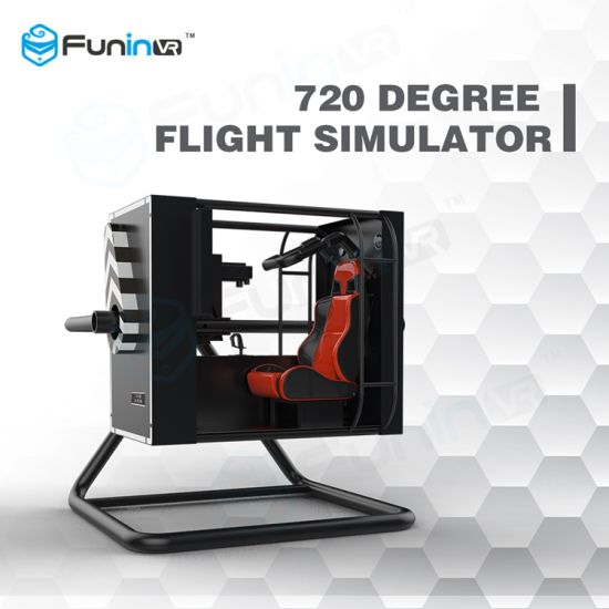 China Exciting 720 Degree Flight Simulator 360 Flight Racing