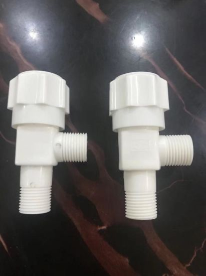Plastic UPVC ABS Angle Cock Valve pictures & photos