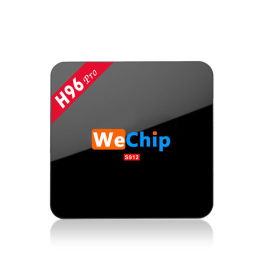 Wechip H96 PRO Google Media Player Ott H96 PRO S912 2g 16g Octa Core Android 6.0 TV Box Kodi 16.0 Media Player pictures & photos