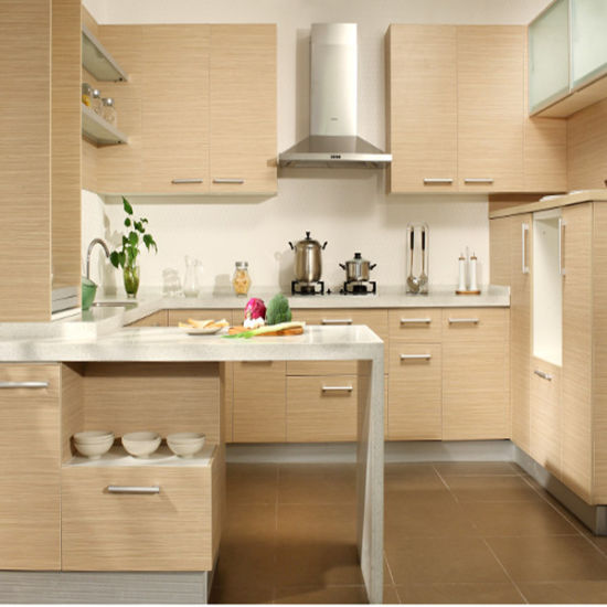 China Melamine Kitchen Cabinet Wardrobe Cabinet Door Interior