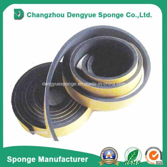 adhesive Rubber Foam Door Sealing Tape  sc 1 st  Changzhou Dengyue Sponge Co. Ltd. & China adhesive Rubber Foam Door Sealing Tape - China Neoprene Foam ...