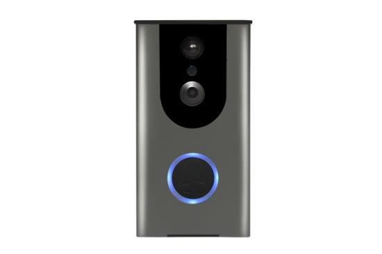 Smart Home Security Wif Video Door Phone with Battery 720p IP65 2 Way Intercom WiFi Video Doorbell