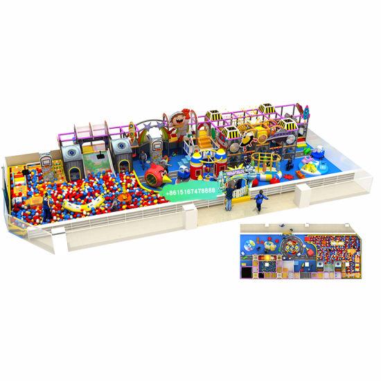 Entertainment Indoor Playground Children Playground Indoor with New Design Factory Customization