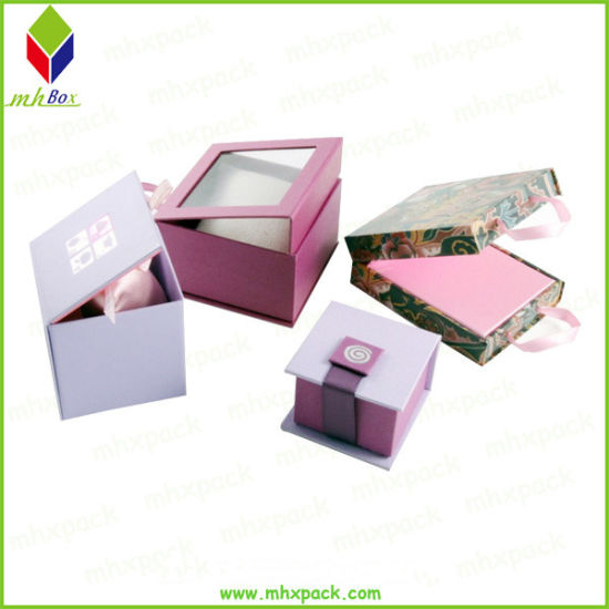 Different Style Folding Box Carton Packing Paper Gift Box