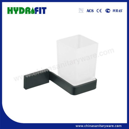 S. S304 Good Quality Bathroom Accessories Black Tumbler Holder (BAS3658B)