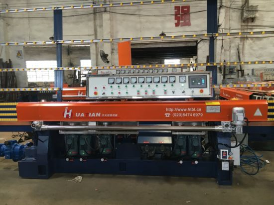 9 Grinding Head Automatic Glass Straight Edging Machinery