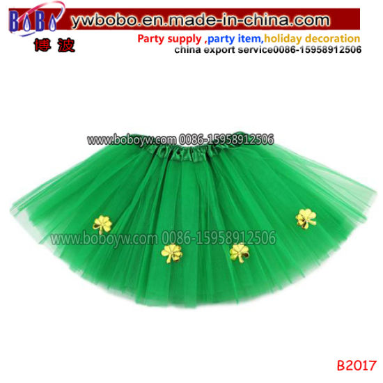 Ireland St. Patrick Day Costume for Kids Carnival Tutu Skirt China Sourcing Agent (C5017) pictures & photos