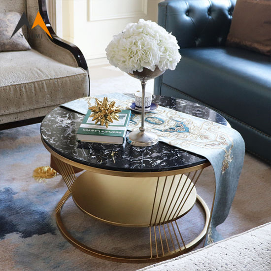 Swell China Living Room Furniture Modern Round 2 Layer Side Table Machost Co Dining Chair Design Ideas Machostcouk